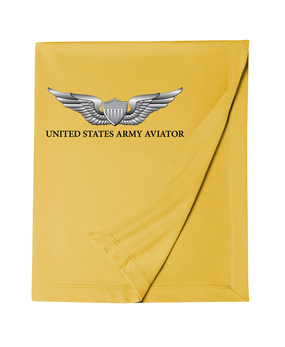 US Army Aviator Embroidered Dryblend Stadium Blanket