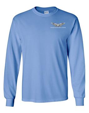 US Army Aviator Long-Sleeve Cotton T-Shirt