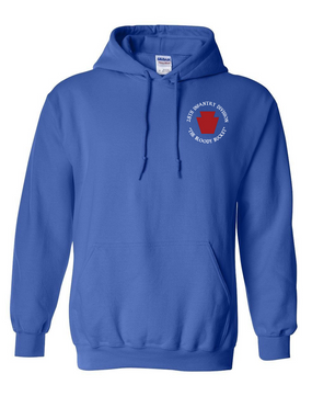 "28th Infantry Division (C) ""The Bloody Bucket"" Embroidered Hooded Sweatshirt"