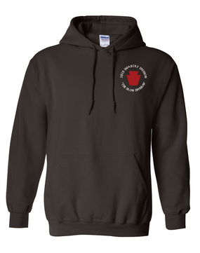 "28th Infantry Division (C) ""The Iron Division"" Embroidered Hooded Sweatshirt"