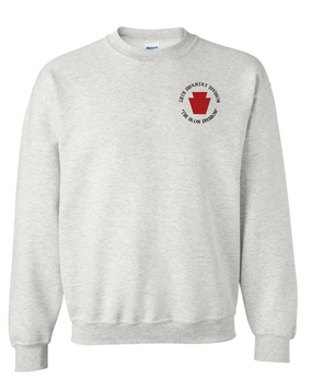 "28th Infantry Division (C) ""The Iron Division"" Embroidered Sweatshirt"