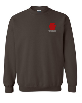 "28th Infantry Division  ""The Bloody Bucket"" Embroidered Sweatshirt"