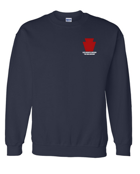 "28th Infantry Division  ""The Iron Division"" Embroidered Sweatshirt"