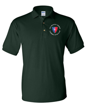 "38th Infantry Division (C) ""Avengers of Bataan"" Embroidered Cotton Polo Shirt"