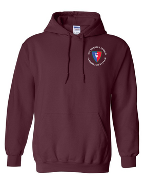 "38th Infantry Division (C)   ""Avengers of Bataan"" Embroidered Hooded Sweatshirt"