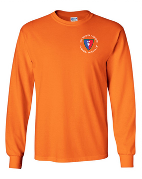 "38th Infantry Division (C)  ""Avengers of Bataan"" Long-Sleeve Cotton T-Shirt"