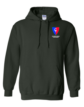 "38th Infantry Division  ""Cyclone Division"" Embroidered Hooded Sweatshirt"