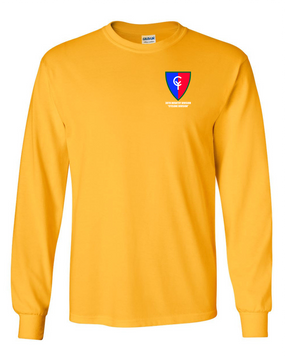 "38th Infantry Division ""Cyclone Division"" Long-Sleeve Cotton T-Shirt"