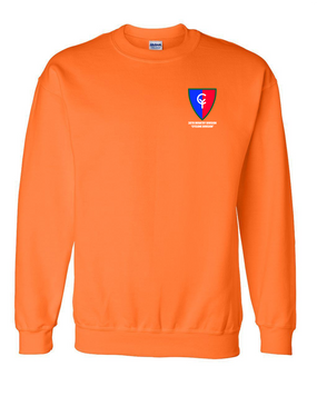"38th Infantry Division   ""Cyclone Division"" Embroidered Sweatshirt"