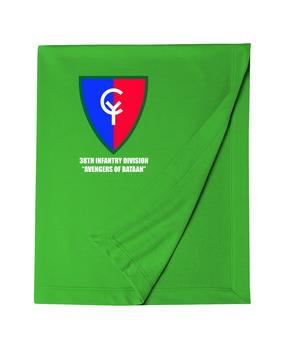 "38th Infantry Division  ""Avengers of Bataan"" Embroidered Dryblend Stadium Blanket"