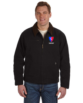 "38th Infantry Division  ""Avengers of Bataan"" Embroidered DRI-DUCK Outlaw Jacket"
