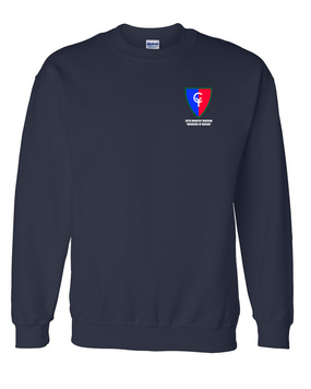 "38th Infantry Division   ""Avengers of Bataan"" Embroidered Sweatshirt"