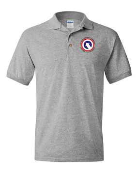 COSCOM Embroidered Cotton Polo Shirt
