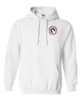 COSCOM Embroidered Hooded Sweatshirt
