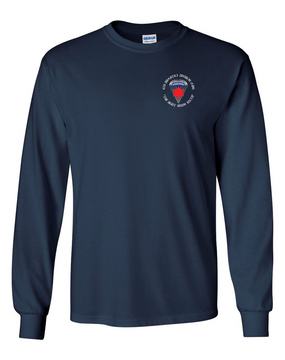 6th Infantry Division (Airborne) Long-Sleeve Cotton T-Shirt