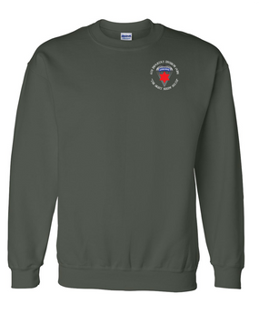 6th Infantry Division (Airborne) Embroidered Sweatshirt