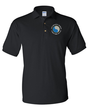 "29th Infantry Division (C) ""Twenty-Nine  Let's Go""  Embroidered Cotton Polo Shirt"