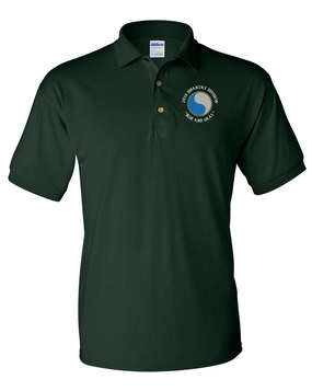 "29th Infantry Division (C) ""Blue and Gray""  Embroidered Cotton Polo Shirt"