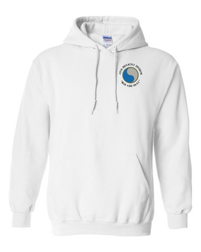 "29th Infantry Division (C) ""Blue and Gray"" Embroidered Hooded Sweatshirt"