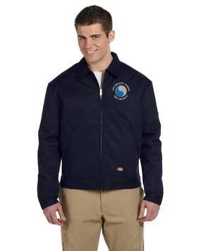 "29th Infantry Division (C) ""Blue and Gray"" Embroidered Dickies 8 oz. Lined Eisenhower Jacket"