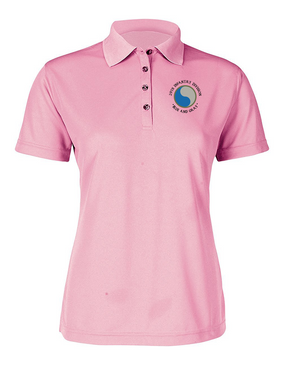 "29th Infantry Division (C) ""Blue and Gray"" Ladies Embroidered Moisture Wick Polo Shirt"