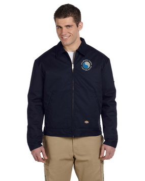 "29th Infantry Division (C) ""Twenty-Nine  Let's Go"" Embroidered Dickies 8 oz. Lined Eisenhower Jacket"
