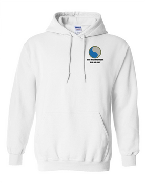 "29th Infantry Division  ""Blue and Gray"" Embroidered Hooded Sweatshirt"