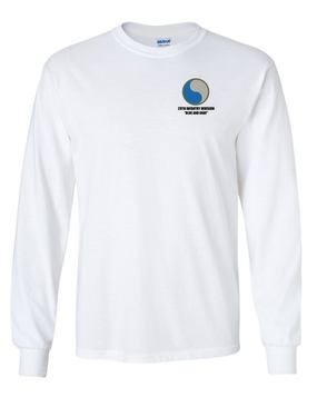 "29th Infantry Division ""Blue and Gray"" Long-Sleeve Cotton T-Shirt"