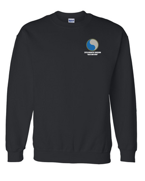 "29th Infantry Division ""Blue and Gray"" Embroidered Sweatshirt"