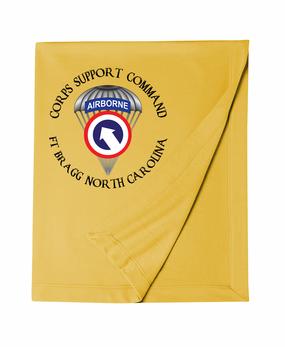 COSCOM (Airborne) (C) Embroidered Dryblend Stadium Blanket