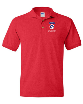 COSCOM (Airborne) Embroidered Cotton Polo Shirt