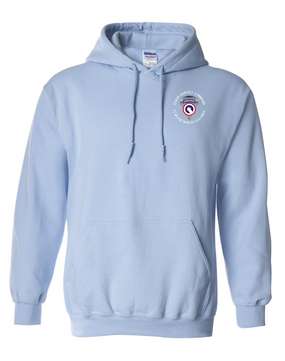 COSCOM (Airborne) (C) Embroidered Hooded Sweatshirt