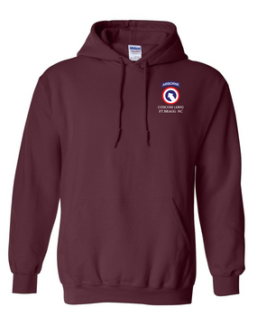 COSCOM (Airborne) Embroidered Hooded Sweatshirt
