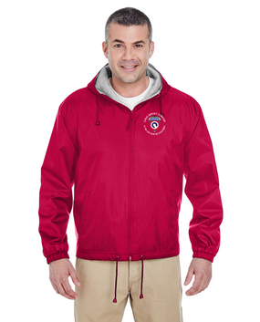COSCOM (Airborne) (C) Embroidered Fleece-Lined Hooded Jacket