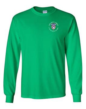 COSCOM (Airborne) (C) Long-Sleeve Cotton T-Shirt