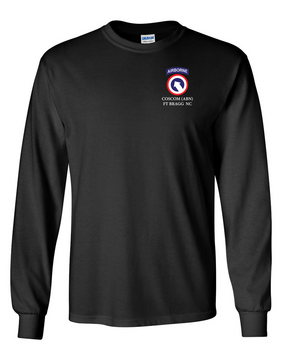 COSCOM (Airborne) Long-Sleeve Cotton T-Shirt