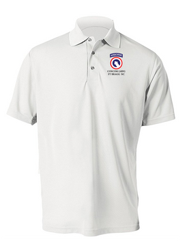 COSCOM (Airborne) Embroidered Moisture Wick Polo  Shirt