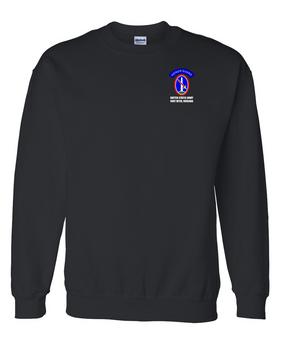 US Army Honor Guard Embroidered Sweatshirt