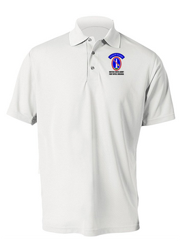 US Army Honor Guard Embroidered Moisture Wick Polo  Shirt