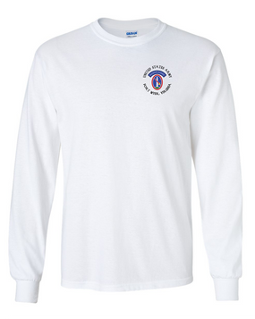 US Army Honor Guard (C) Long-Sleeve Cotton T-Shirt