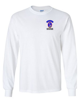 US Army Honor Guard Long-Sleeve Cotton T-Shirt
