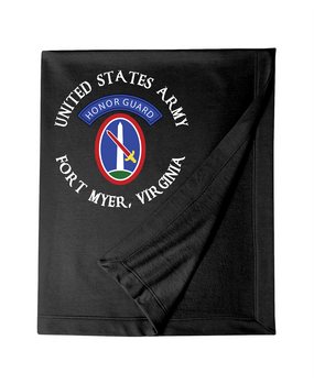 US Army Honor Guard (C) Embroidered Dryblend Stadium Blanket