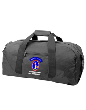 US Army Honor Guard Embroidered Duffel Bag