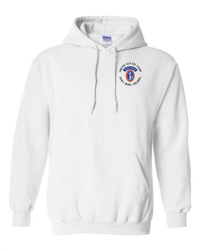 US Army Honor Guard (C) Embroidered Hooded Sweatshirt
