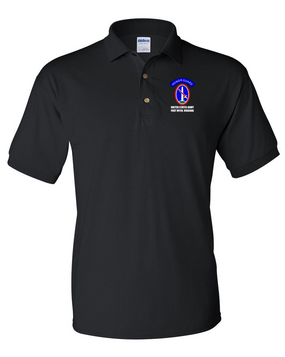 US Army Honor Guard Embroidered Cotton Polo Shirt