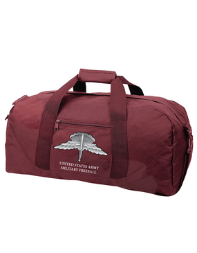 US Army HALO Embroidered Duffel Bag