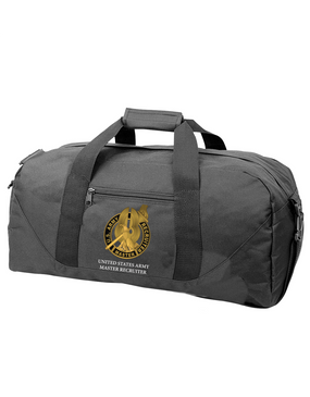 US Army Master Recruiter Embroidered Duffel Bag
