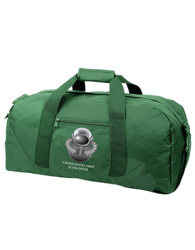 US Army SCUBA Embroidered Duffel Bag