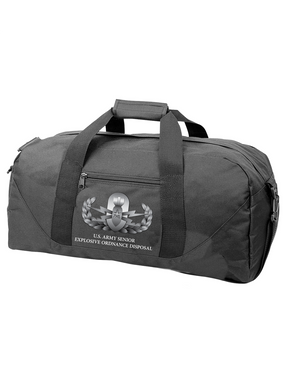 US Army EOD-Senior Embroidered Duffel Bag