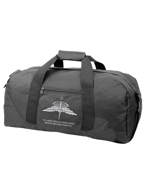 "US Army ""Special Operations""  HALO-Senior Rated Embroidered Duffel Bag"